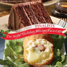 It's the final round of our Holiday Recipe Face-Off! Click on this image to vote for your favourite Tre Stelle recipe to win $25 in Tre Stelle grocery vouchers! Re-pin this image for an extra entry! Face Off, Holiday Cakes, Cannoli, Sweet Bread, Holiday Recipes, Cheesecake, Breads, Desserts, Ricotta