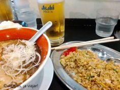Gastronomía japonesa, ramen y arroz