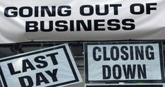 Today I will talk about Avoid Going Out of Business - 10 Steps to Avoiding Bankruptcy (Link). We've all seen companies close. If we frequented those Going Out Of Business, Starting A Business, Closing Day, Moving On In Life, High Street Shops, Franchise Business, Financial Literacy, Financial News, Business Advice