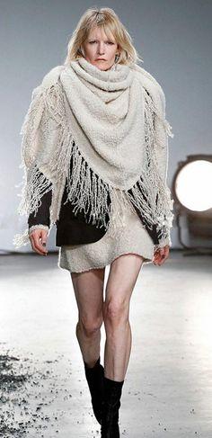 Morpheus Boutique  - Off White Warm Raw Edge Trims Pattern Scarf Wrap, $39.99 (http://www.morpheusboutique.com/new-arrivals/copy-of-leopard-raw-edge-trims-pattern-scarf-wrap/)