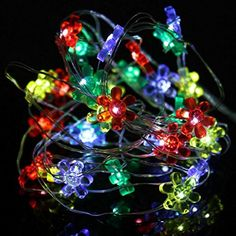 2M 20LED Sunflower Modeling Button Battery Lights String Party Wedding Decor,Home Decoration, Shop Window, Concert, Fashion Show, Dancing Hall,Tuscom (C) ** You can find out more details at the link of the image. (This is an affiliate link) #NurseryNightLights