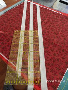 Anna Orduña - Mi Rincón de Patchwork: Tutorial: Acolchar líneas rectas Quilt Labels, Quilting Tutorials, Patches, Quilts, Design, Patterns, Tela, Craft, Patchwork Cushion