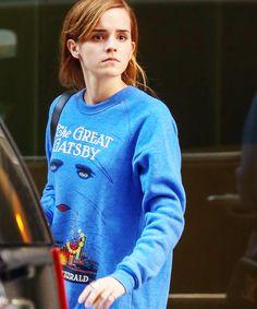 emma watson. great gatsby sweater