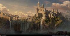 Ten fantasy castles Fantasy castle Fantasy landscape Fantasy city