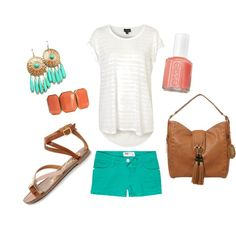 Coral and Turquoise - My favorite colors!!