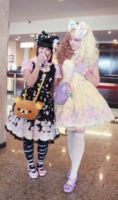 love the milky print!!! But enough sweet loli for me! Hehe