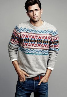 jumper + guy = perfect match