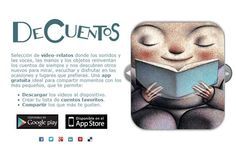 DeCuentos aplicación para móviles Fundación Sánchez Ruiperez