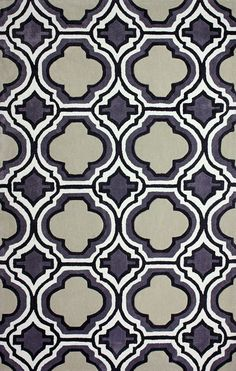 nuLOOM Hand-tufted Modern Moroccan Trellis Grey Rug x - Overstock™ Shopping - Great Deals on Nuloom - Rugs Decor, Modern Moroccan, Nuloom, Grey Rugs, Urban Interior Design, Plush Area Rugs, Rugs, Moroccan Trellis, Hand Tufted Rugs
