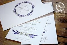 Partecipazione invito nozze Country tema lavanda con busta Wedding Dreams, Dream Wedding, Lavander, Place Cards, Wedding Invitations, Place Card Holders, Design, Wedding Invitation Cards