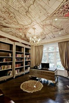 """It reminds me the """"renaissance"""" era roofs with a modern touch ... Truelly Nice"""