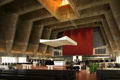 Marcel Breuer, St John's Abbey Church, Collegeville, Minnesota, 1958-61 by rpa2101, via Flickr