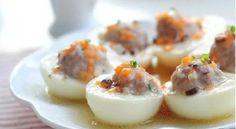 """น่าทานสุดๆ!! เมนู """"ไข่ต้มไส้หมูสับ"""" ที่มาพร้อมวิธีการทำอันแสนง่าย?   สำนักข่าวทีนิวส์"""