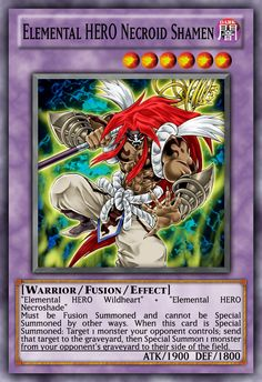 elemental heroes deck | elemental-hero-necroid-shamen.jpg