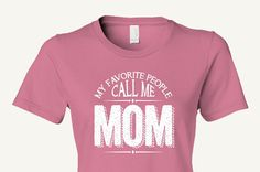 MOM Mother T-Shirt Mother's Day Birthday Christmas Hannukah Chanukah New Mom gift, gift from children, husband, or parents