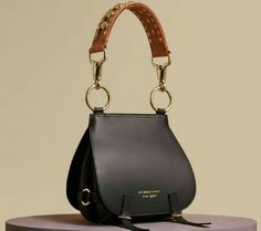 Black leather bag Cross body purse crossbody bag от Percibal ...