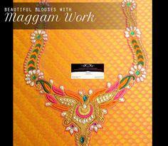 Maggam work blouse