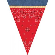 The Party Cupboard : Cowboy Western Party Bunting : Cowboy Western Party Decorations