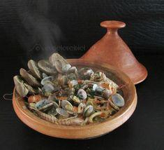 Brodetto di pesce in Tajine con friselle di grano arso di Flavia