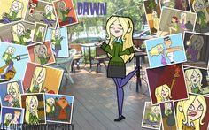 :+:Total Drama Pix Wallpaper-Dawn:+: by QuickDrawDynoPhooey on DeviantArt