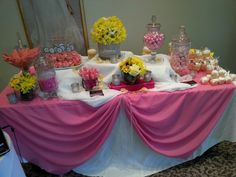 Table setup by Glam Squad