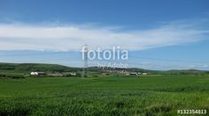 Paisajes rústicos, pueblos. #fotolia #sold #photo #Photo #photography #design #photographer #Landscapes #summer #green #fields #roads #colorful