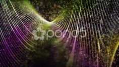 Spinning Strands & Smokey Particles - Stock Footage | by VJLoops