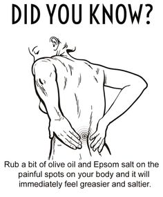 Just because you read it on Facebook.... #Health #Salt #Facebook #post #oliveoil #Grease #Back #Pain #truth