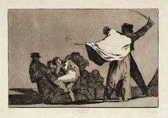 Francisco de Goya - Disparate Conocido (nº 21), 1877