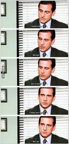 Michael Scott is hero.