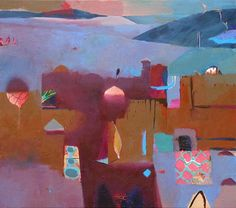Gerry Dudgeon Artist - Moroccan Paintings