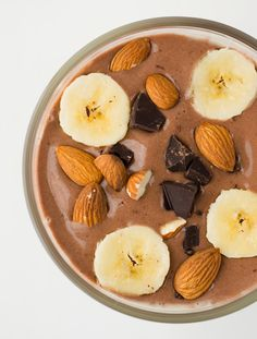 Chocolate-Banana Swirl Smoothie with Energizing Maca
