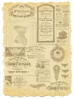 Old+ephemera+paper.jpg (1193×1600)