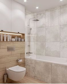 Image may contain: indoor Best Bathroom Designs, Modern Bathroom Design, Bathroom Interior Design, Home Interior, Narrow Bathroom, Tiny House Bathroom, Small Appartment, Bathroom Remodel Pictures, Wc Design