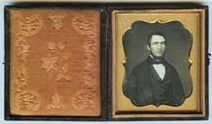 1 6 Plate Daguerreotype Photo Portrait of A Handsome Man   eBay