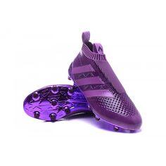 low priced 0bb55 fdad3 2016 Adidas Ace16+ Purecontrol FG AG Botas De Futbol Púrpura