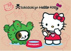 ✯ Tokidoki x Hello Kitty ✯ #Bastardino