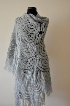 shawl #crochet #shawl