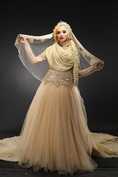 Kebaya Muslimah Laksmi  NEW COLLECTION by LAKSMI - Kebaya Muslimah & Islamic Wedding Service - 004