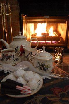 Inspiration by Liz ❤❦♪♫ - Christmas Tea - Lenox Winter Greetings china
