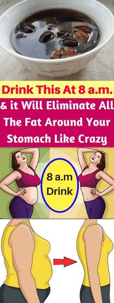 Drink This At 8 AM & it Will Eliminate All The Fat Around Your Stomach Like Crazy!!!! - All What You Need Is Here