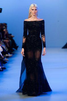 grafika dress, black, and elie saab