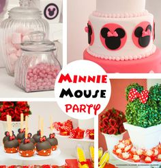 Minnie Mouse Party Ideas- cute!