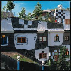 lovable architecture in Austria by Hundertwasser
