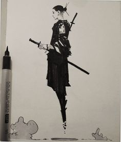 """rhubarbes: """" ArtStation - Inktober by Alexander J More sketches here. Character Drawing, Character Illustration, Illustration Art, Wie Zeichnet Man Manga, Creation Art, Character Design Inspiration, Ink Art, Traditional Art, Oeuvre D'art"""