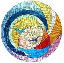 Image result for mosaic round table top designs