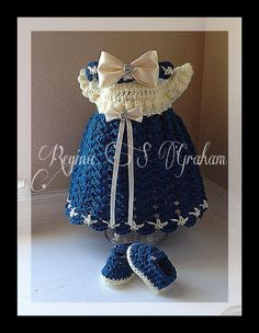Hey, I found this really awesome Etsy listing at https://www.etsy.com/listing/223122757/crochet-baby-dress-pattern-crochet