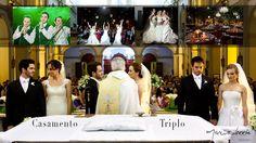 Casamento Triplo by Marcio Norris Foto & Filme - Noivos: Inara & Rodrigo - Tayla & Robson - Amanda & Ricardo - N.Srª de Fátima e Fasano.
