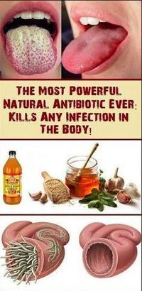 The Most Super Natural Homemade Antibiotic That Kills Any Infection In Your Body!! – Gust Of Wind~
