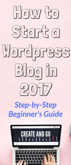 Starting our wordpress blog last year changed Lauren and I's life FOREVER. We made $103,457.83, traveled the world, and finally felt fulfilled with our work. It's time for you to get started! This step-by-step guide to how to start a wordpress blog will easily walk you through the process: http://createandgo.co/how-to-start-a-wordpress-blog/